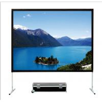 Buy cheap 2D Matt White Fast Fold Screen For Office / School Education Training Centre from wholesalers