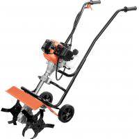1e Gaslio Mini Garden Tiller Large Oil Tank , Mini Tiller Cultivator 1600w Rated Power