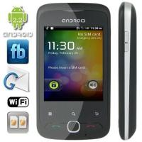 China 2.8 Inch Touchscreen Android 2.2 Quad Band Android Phone with WIFI + GPS + Analog TV [A3] on sale