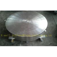 Buy cheap P355QH EN10273 Carbon Steel Forged Disc  PED  Export To Europe 3.1 Certificate Pressure Vessel Blank Flange product