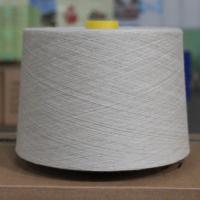 Buy cheap 20Ne Cotton Linen Blend Yarn with Heat Dissipation , Natural Color Yarn Thread product