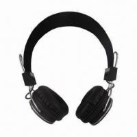 Buy cheap MP3 Bluetooth Stereo Headphones, Supports TF Card, MP3 Headset and Wired Headset product