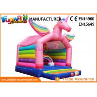 Buy cheap Inflatable bouncers house for children inflatable unicorn bouncing castle from wholesalers