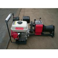 Buy cheap 1 Ton Load Capacity Compact Gasoline Engine Cable Pulling Winches Puller For Cranes product