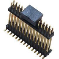 1.27mm Pin Header Connector H=1.0mm SMT Doul Row Double Plastic