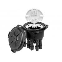 Buy cheap PP Material Fiber Optic Splice Closure Waterproof IP68 Dome Type 2 In 8 Wall Mounted product