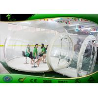 Buy cheap Outdoor 4m Long Clear Inflatable Bubble Tent / 0.6mm PVC Dome Tent For Camping product