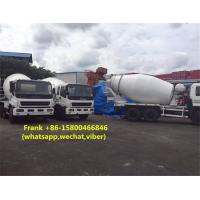 Buy cheap 10 PE1 Engine ISUZU Concrete Mixer Truck 100 % Original Imported Condition product