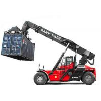 Buy cheap 18.00-25 Tire Sany Kalmer Heli  SRSC4545C2-80 45 ton stacker crane reach stacker for Port containers product