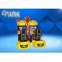 Buy cheap Indoor two player racing game slot coin conjoined racing game machine from wholesalers
