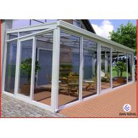 Buy cheap Home Greenhouse Aluminium Windows And Doors For Sunrooms Glazing Garden product