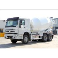 Buy cheap 12cbm Tanker Cement Mixer Lorry High Collision Resistance With Hydraulic System from wholesalers