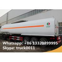 China CLW Brand good price 47000L oil  tanker semi-trailer for sale, factory sale best price 503 fuel tank transported trailer on sale