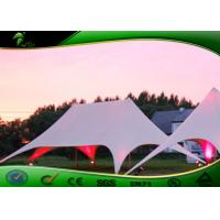 Buy cheap Double Peaks Star Shape Tent , Colorful Oxford Cloth Star Marquee Tent product