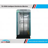 Buy cheap Mobile disinfection Cabinet with disinfectant spray/ Intelligent face recognition with Personnel Thermometry product