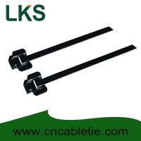 Buy cheap 304 316 PPA Coated Releasable Stainless steel cable ties product