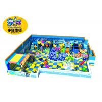 Buy cheap Customized Theme Kids Indoor Soft Playground Games Amunment Park for mall from wholesalers