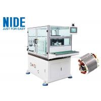 Buy cheap 2 Pole 3 Phase Stator Winding Machines With Double Working Stations / Flyers from wholesalers