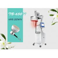Buy cheap Professional Diode Laser Hair Loss Therapy Laser Hair Growth Machine / Equipment with LCD Screen product