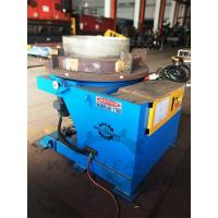 Buy cheap 2000Kg Carring Rotary Welding Positioner 1100mm Table Slotted 300mm Gravity from wholesalers