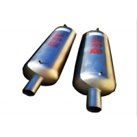 Buy cheap SS304 Exhaust Specialised Pipe And Fittings , Dn50 Boiler Noise Silencer product