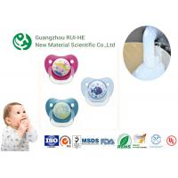 Quality Liquid Silicone Rubber For Baby Nipples, Bottles Injection Molding 2 Part LSR 6250 - 60 With LFGB for sale