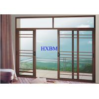 Buy cheap Villas Apartments Aluminum Sliding Windows With 6mm Tempered Glazing from wholesalers