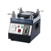 Buy cheap Easy Handle Fiber Optic Polishing Machine , Four Cornered Industrial Grinding Machine from wholesalers