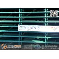 Buy cheap φ4.0mm 358 anti-climb Security Prison Fence with Black color Powder Coated   High Visible Mesh Panel product