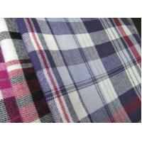 Buy cheap 100% cotton flannel yarn dyed fabric product