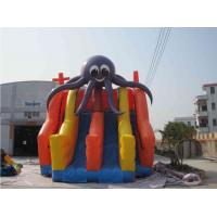 Buy cheap Funny Jellyfish Inflatable Water Park With Three Slides Customized product