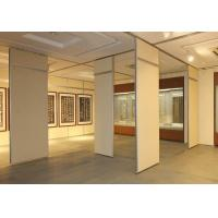 Buy cheap Commercial Furniture Aluminum Sliding Operable Sound Proof Partitions from wholesalers