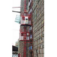 Buy cheap 200m SC100 / 100 Construction Elevator 33-36 m/min GOST Certificates product