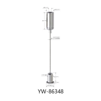 Buy cheap Brass Cable Hanging System Painted Black With A Wire Manager YW86345 product