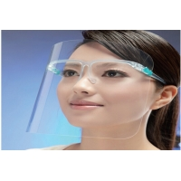 Buy cheap 2020 Hot Sale Anti-Fog Transparent Protective Face Shield With Glassses Frame product
