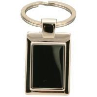Buy cheap Blank logo Zinc alloy Metal Keychains with Shinny nickel plated for souvenir and gifts product