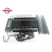 Buy cheap Full Band Mobile Phone Signal Blocker , Cell Phone Jammer With 12V Car Charger product