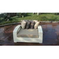Buy cheap Outdoor Rattan Furniture Lounge Sofa , Luxury Conservatory Sofa Bed product