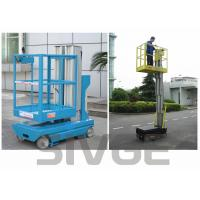Buy cheap Self Driven Hydraulic Lift Ladder 5m Working Height Dual Mast For Auto Stations product