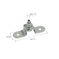Buy cheap Adjustable U Type Ceiling Metal Plate For Cable Hanging Systems YW86281 product