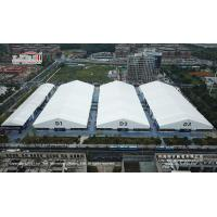 Buy cheap Huge Tent Venue for Temporary Outdoor Exhibition Tents A-Shape Metal Frame Heavy Duty Roof Cover from wholesalers