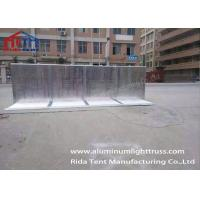 Buy cheap High Hardness Crowd Stopper Barricades Straight / Gate Type For Secure Outdoor Event product