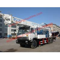 Buy cheap 350m Dth Rotary Water Well Drilling Rig 115kw Truck Chassis Borehole Drill from wholesalers