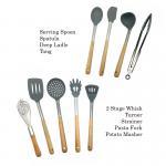 Buy cheap Non Fading Spatula Kitchen Tools , Non - Stick Silicone Spatula Spoon Set product