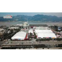 Buy cheap 2000 Sqm  outdoor party tent  for outdoor temporary car show product
