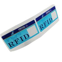 Buy cheap Custom RFID 860~960MHz 475*54mm luggage label sticker Baggage For Tracking from wholesalers