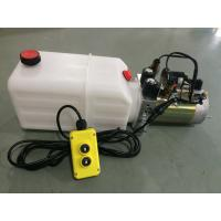 China High Pressure Double Acting Hydraulic Power Pack For Tipper Trailer on sale