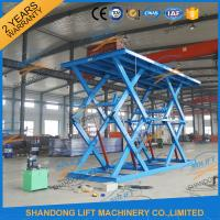 Buy cheap In Ground 3 ton Basement  Hydraulic Car Scissor Lift for Home Garage product