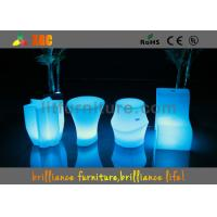 Buy cheap Wireless Remote Control  , LED Cube Chair with 16 colors for coffee shop product