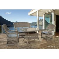 Buy cheap Outdoor Rattan Chairs With Table Set , Garden Table And Chairs For Conservatory product